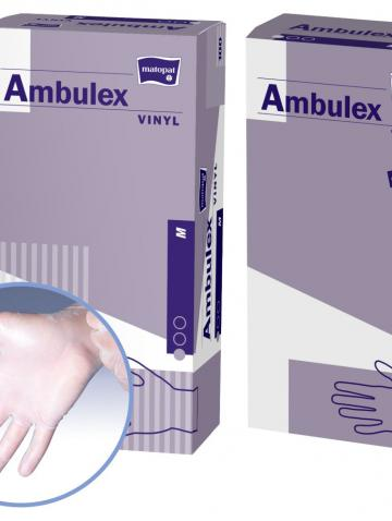 Ambulex, Vinyl, Einmalhandschuhe