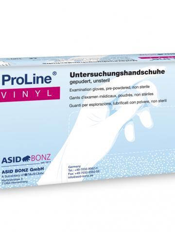 ProLine gepuderte Untersuchungshandschuhe